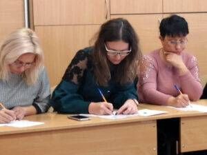 """Мастер-класс для учителей г. Борисполя """"Бурхливий розвиток інтелекту"""""""
