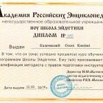 Сертификат Методиста